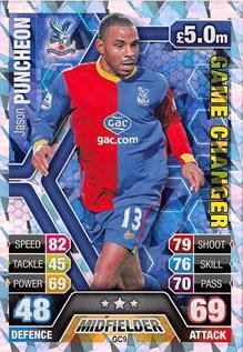 Match Attax Extra 2013/2014 Jason Puncheon Game Changer 13/14