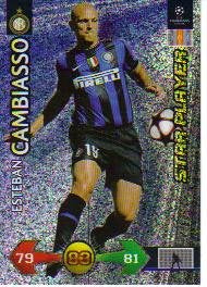 Champions League Super Strike 09-10 STAR Cambiasso