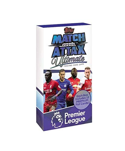 Match Attax 2018/19 Topps Ultimate (Full Booster Box) 16 Packs Of Official Trading Cards