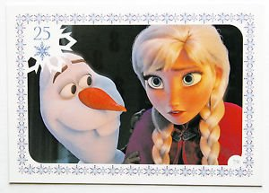 Disney Frozen Olf & Anna Movie Story Trading Card #79