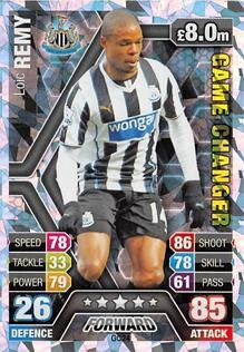 Match Attax Extra 2013/2014 Loic Remy Game Changer 13/14