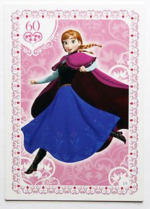Disney Frozen Regular Character Anna Trading Card #19