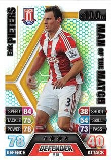 Match Attax Extra 2013/2014 Erik Pieters Man Of The Match 13/14