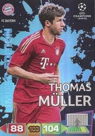 Champions League Adrenalyn XL 2011/2012 Thomas Muller 11/12 Limited Edition