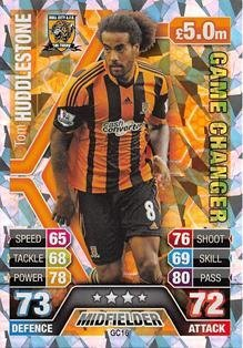 Match Attax Extra 2013/2014 Tom Huddlestone Game Changer 13/14
