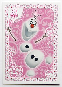 Disney Frozen Regular Character Olf Trading Card #17
