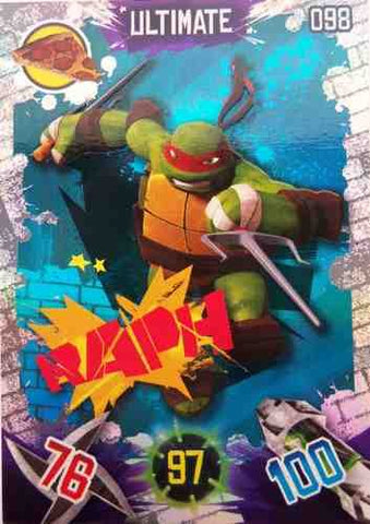 Teenage Mutant Ninja Turtles Ultimate Raph Trading Card #98