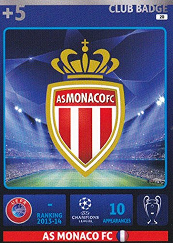Champions League Adrenalyn XL 2014/2015 AS Monaco Club Badge 14/15