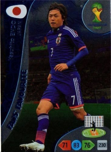 FIFA World Cup 2014 Brazil Adrenalyn XL Yasuhito Endo Fans Favourite