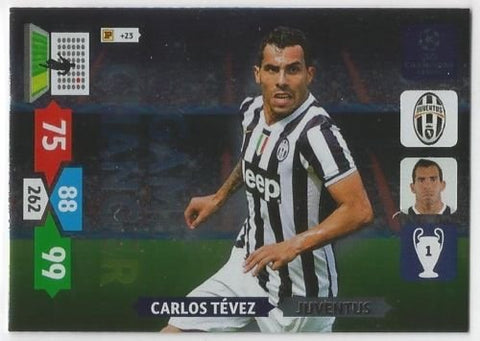 Champions League Adrenalyn XL 2013/2014 Carlos Tevez 13/14 Game Changer