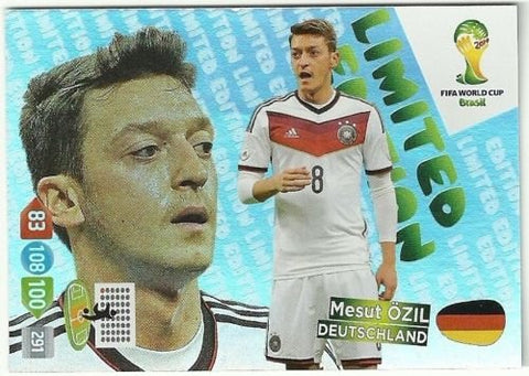 Adrenalyn XL FIFA World Cup 2014 Brazil Mesut Ozil Limited Edition