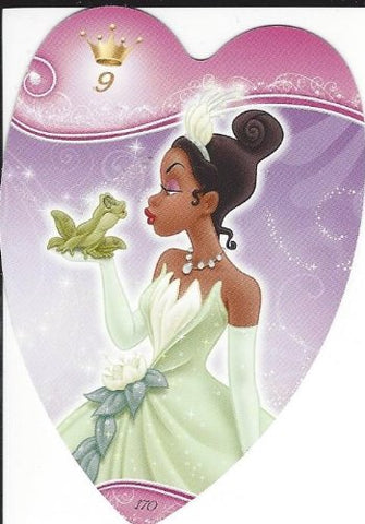Disney Princess Heart-Shaped Card No.170