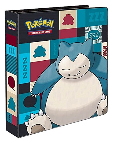Pokemon 85531 PKM Ultra Pro-2 Inch Album-Snorlax, Colourful, 29,7x27,5x6,5cm
