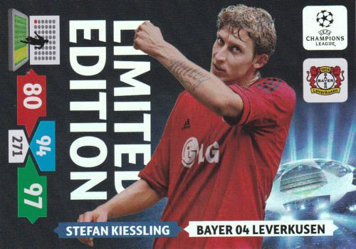 Champions League Adrenalyn XL 2013/2014 Stefan Kiessling 13/14 Limited Edition