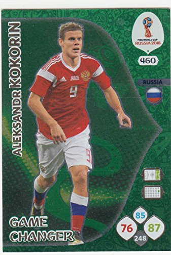 Adrenalyn XL Panini World Cup Russia 2018 Kokorin Game Changer