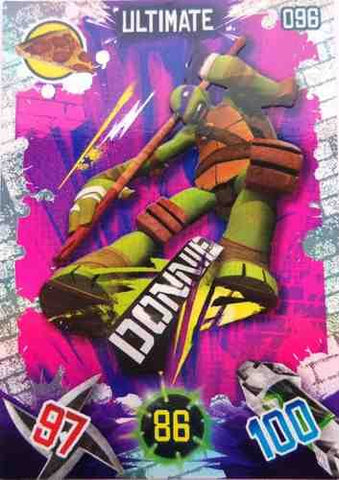 Teenage Mutant Ninja Turtles Ultimate Donnie Trading Card #96
