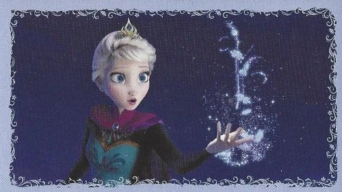 Disney Frozen Individual Elsa Sticker No.E6