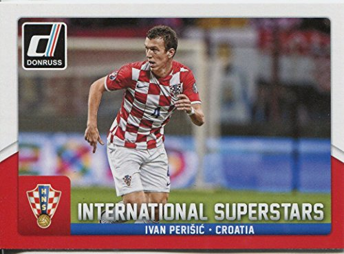 Donruss Soccer 2015 Int. Superstars Chase Card #68 Ivan Perisic