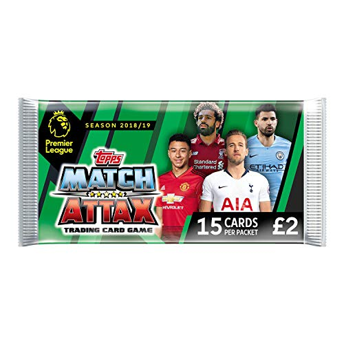 EPL Match Attax 2018/19 Deluxe Packs (x24 Packs)