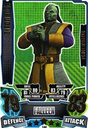 Star Wars Force Attax Series 4 The Clone Wars Ziton Moj Force Master