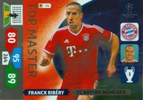 Champions League Adrenalyn XL 2013/2014 Franck Ribery 13/14 Top Master