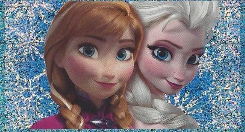Disney Frozen Individual Elsa & Anna Sticker No.A12