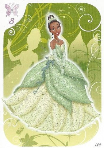 Disney Princess Glitter Card No.144