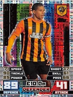Match Attax 2014/2015 Curtis Davies Man Of The Match 14/15