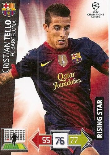 Champions League Adrenalyn XL 2012/2013 Cristian Tello 12/13 Star Player