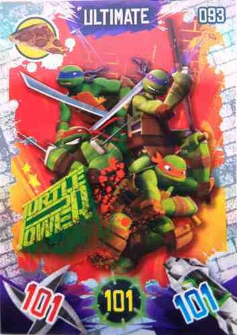 Teenage Mutant Ninja Turtles Ultimate Turtle Power Trading Card #93