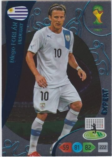 FIFA World Cup 2014 Brazil Adrenalyn XL Diego Forlan Expert