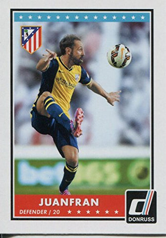 Donruss Soccer 2015 Base Card #31 Juanfran