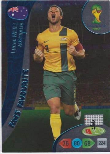 FIFA World Cup 2014 Brazil Adrenalyn XL Lucas Neill Fans Favourite