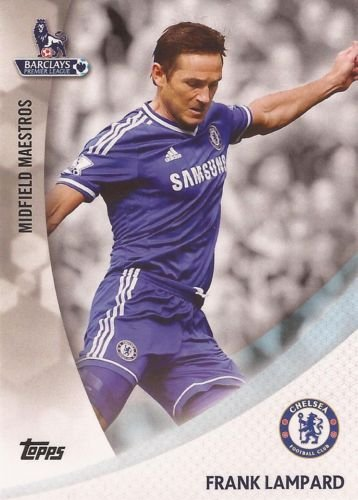 Premier Gold 2013 Frank Lampard Chelsea Midfield Maestro Card