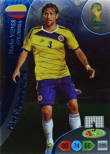 FIFA World Cup 2014 Brazil Adrenalyn XL Mario Yepes Fans Favourite