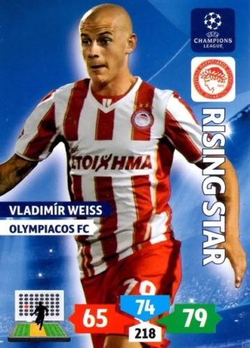 Champions League Adrenalyn XL 2013/2014 Vladimar Weiss 13/14 Rising Star