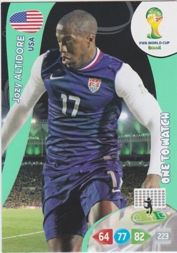 FIFA World Cup 2014 Brazil Adrenalyn XL Jozy Altidore One To Watch
