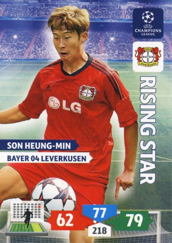 Champions League Adrenalyn XL 2013/2014 Son Heung-Min 13/14 Rising Star