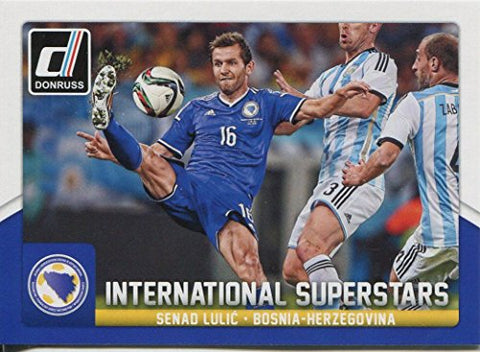 Donruss Soccer 2015 Int. Superstars Chase Card #86 Senad Lulic