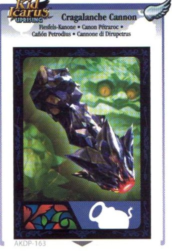 Kid Icarus Uprising AKDP 163 - Cragalanche Cannon Silver Wing Rare Card