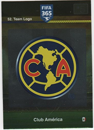 Panini Adrenalyn XL FIFA 365 Club America Logo Badge and Team Mates Trading Cards