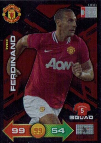 Manchester United Adrenalyn XL 2011/2012 Rio Ferdinand Special Squad 11/12
