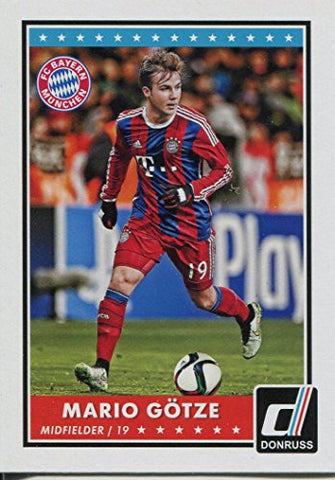 Donruss Soccer 2015 Base Card #46 Mario Gotze