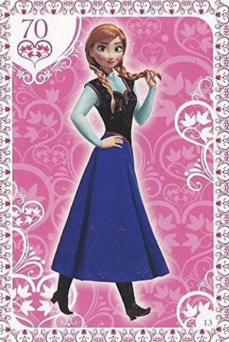 Disney Frozen Regular Character Anna Trading Card #13