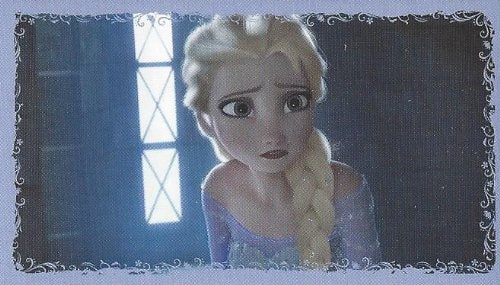 Disney Frozen Individual Elsa Sticker No.147