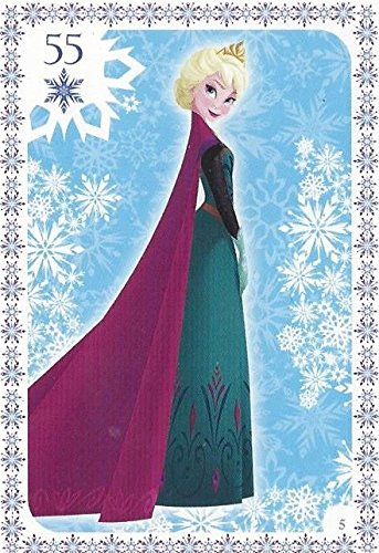 Disney Frozen Regular Character Elsa Trading Card #5