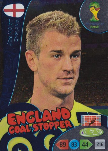 FIFA World Cup 2014 Brazil Adrenalyn XL Joe Hart Goal Stopper