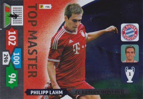 Champions League Adrenalyn XL 2013/2014 Philipp Lahm 13/14 Top Master