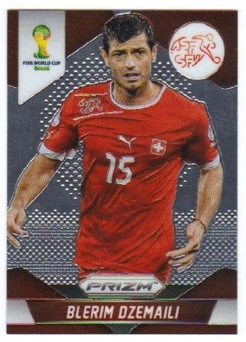Panini Prizm World Cup Brazil 2014 Base Card # 183 Blerim Dzemaili Switzerland