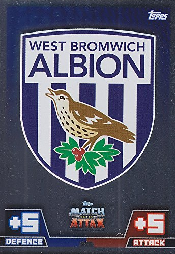 Match Attax 2014/2015 West Brom Club Badge 14/15